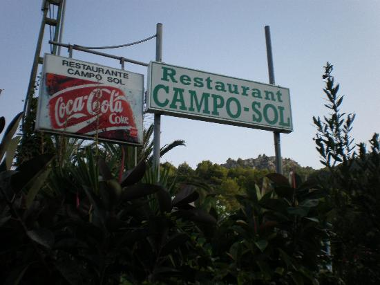 Campo Sol : Eingangsbereich