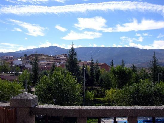El Linar del Zaire: Vista desde la terraza