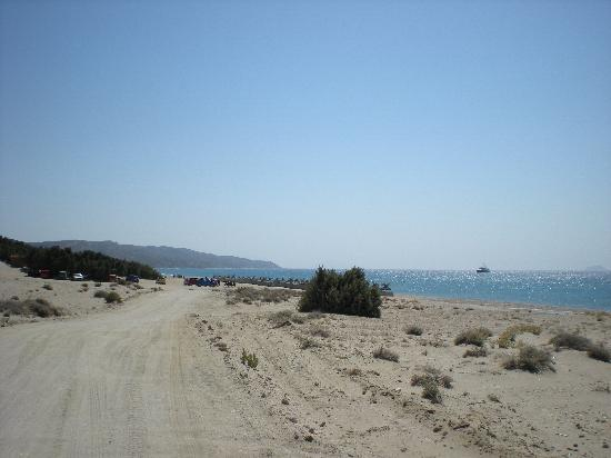 Xerokambos (Exotic Beach): La strada