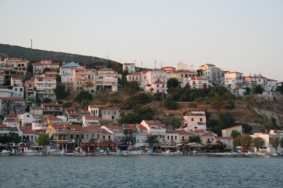 Pythagorion, Greece: The harbour