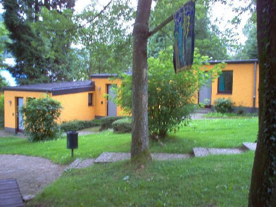 Youth Hostel Larochette : The Larochette Hostel - Small Bungallows