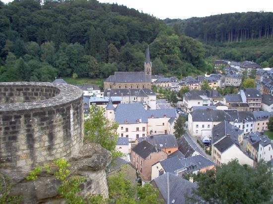 Youth Hostel Larochette : Larochette - View from the Castle