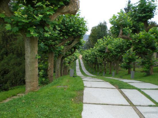 Las Caldas, España: Jardines
