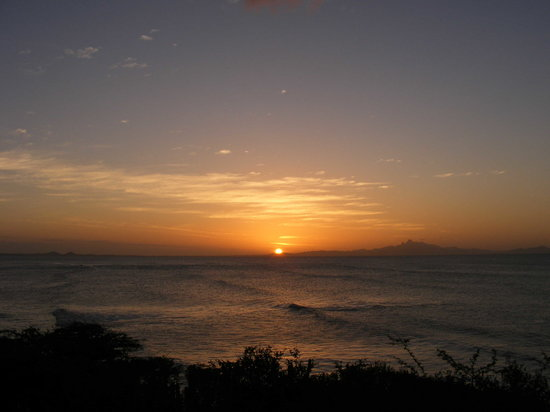 Margarita Island, Venezuela: sun set