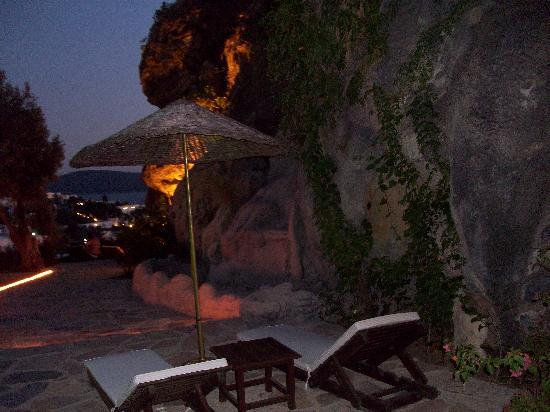 Aegean Gate Hotel: the rock