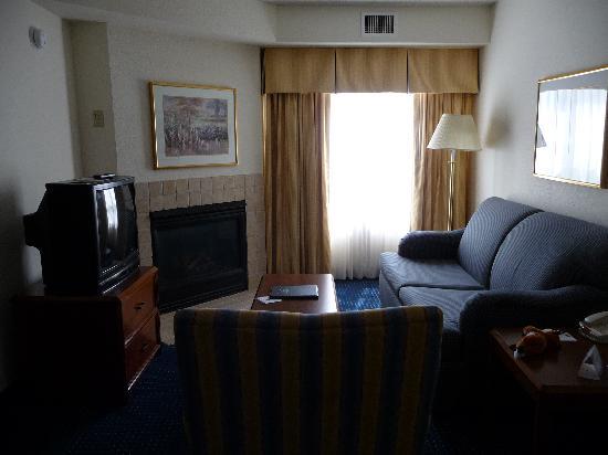 Residence Inn Mystic Groton : Living Room