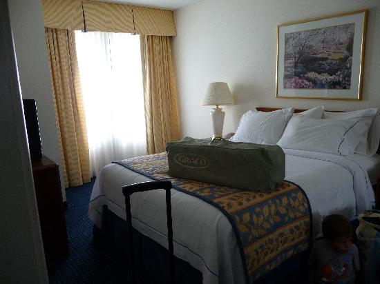 Residence Inn Mystic Groton: 2nd bedroom