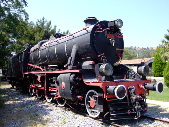 Camlik Locomotive Museum