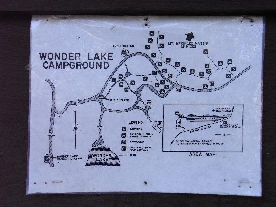 Wonder Lake Campground: MAP