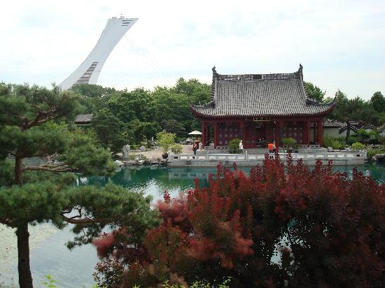 Montreal Botanical Gardens: china or canada?