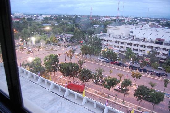 Lampang Wiengthong Hotel: Vistas desde la habitación