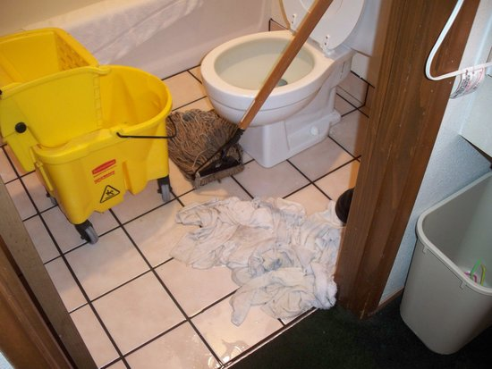 Rodeway Inn : The mop the owner used