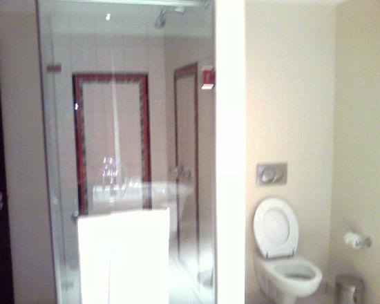 Soweto Hotel & Conference Centre: bathroom with shower and bath