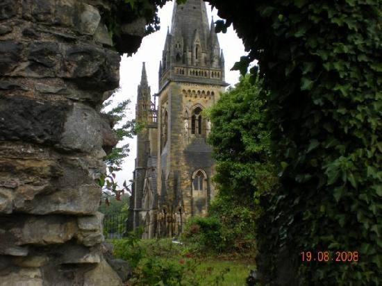 Llandaff Cathedral: Llandaff through the war memorial