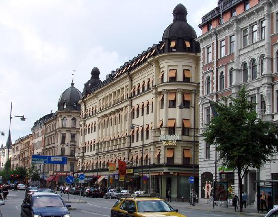 Elite Hotel Adlon: hotel view
