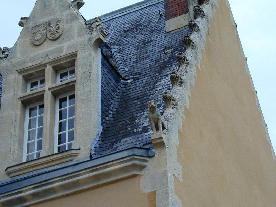 Chateau de la Barre : Gargoyle!