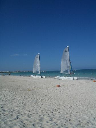 Secrets Maroma Beach Riviera Cancun : HobieCats - a blast!