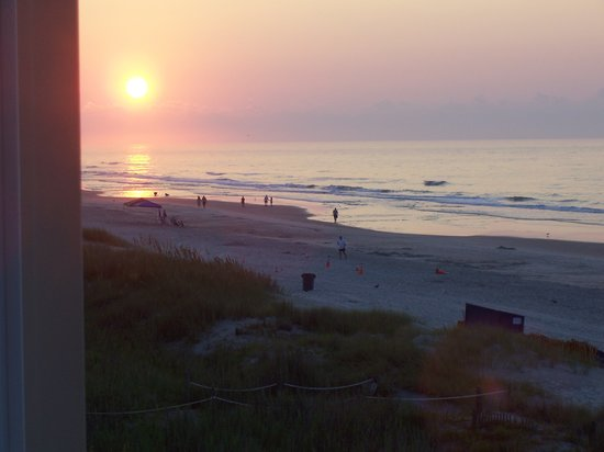 North Myrtle Beach, Karolina Południowa: Sunrise view from Windy Village Condos