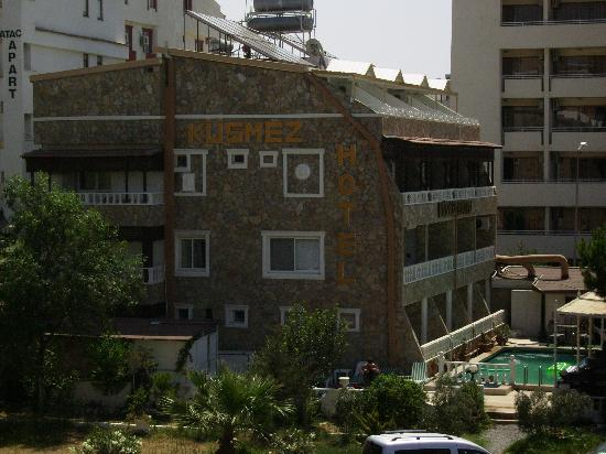 Kusmez Hotel: bad examle of turkish hotels