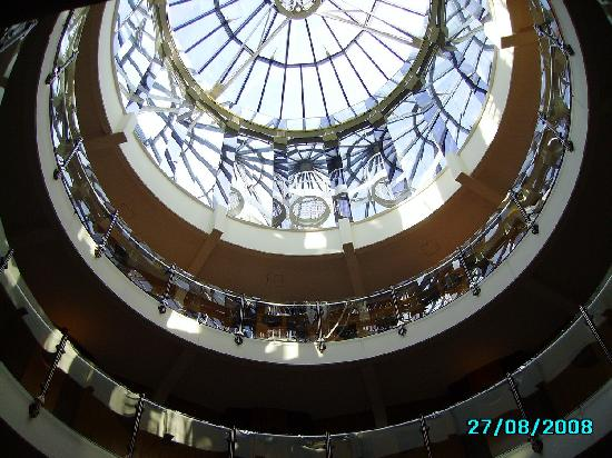 View from 4th floor upwards