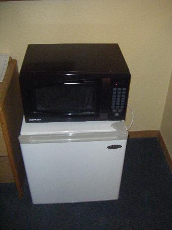 Days Inn Moab: Micro-onde et frigo