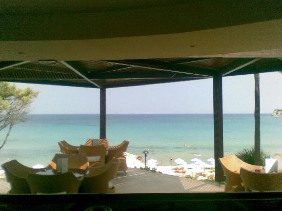 Sani Club: View from pool bar!