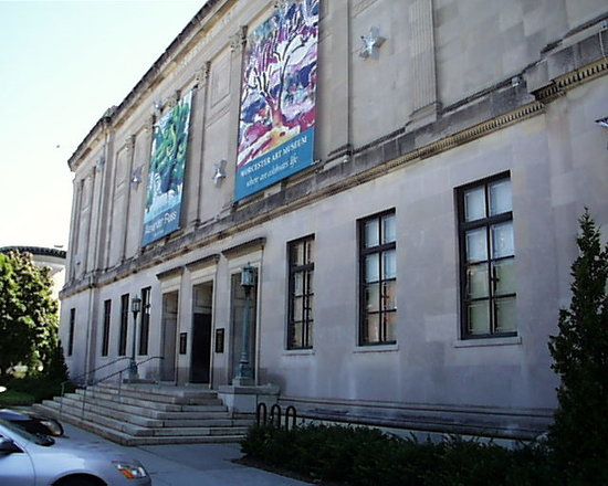 Worcester Art Museum Front Entrance