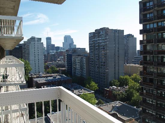 Residence Inn Montreal Westmount: View from terrace