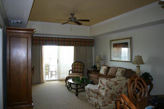 Reunion Resort of Orlando: Living area