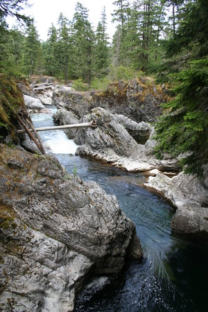 Qualicum Beach, Canada : Little Qualicum Falls