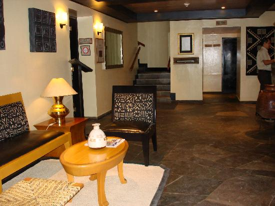 Belmond Sanctuary Lodge: The lobby
