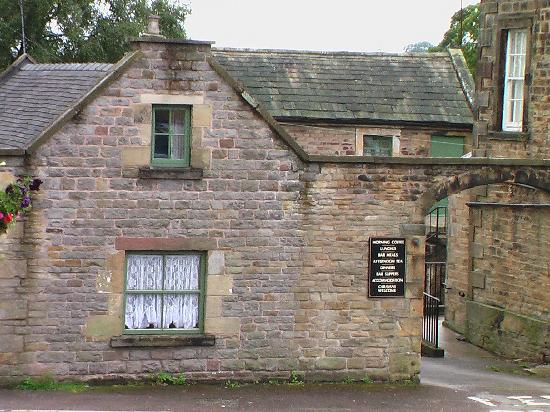 The Crewe & Harpur: Entrance to the cottages