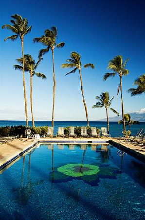 Mahina Surf: beautiful pool and view
