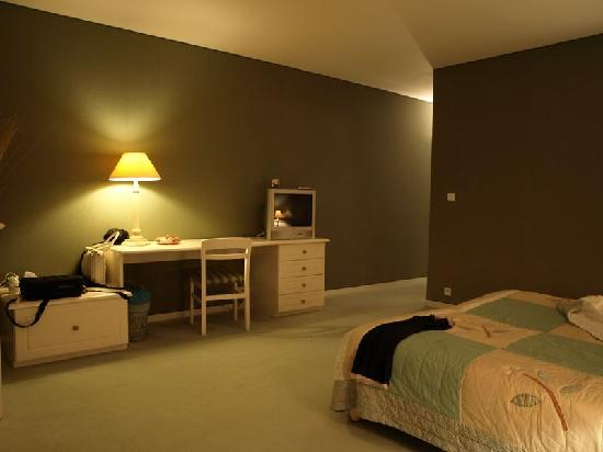 chambre vert fonc picture of domaine de pratdessus sarbazan tripadvisor. Black Bedroom Furniture Sets. Home Design Ideas