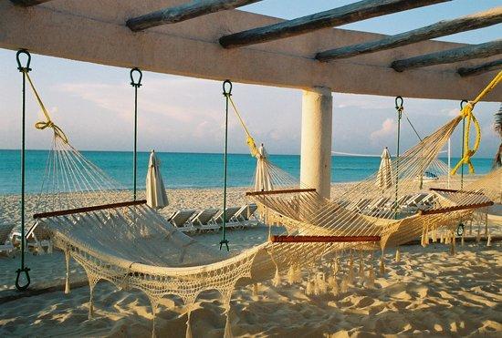 Sunset Fishermen Spa & Resort: the hammocks at the resort