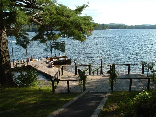 Great Pines: North Woods Inn waterfront