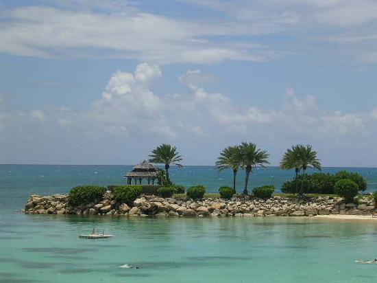 Blue Waters Antigua : The wedding gazebo