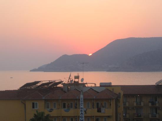 Azak Beach Hotel: From our balcony.