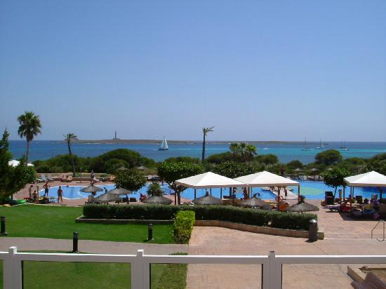 Insotel Punta Prima Resort & Spa : View over lower pools