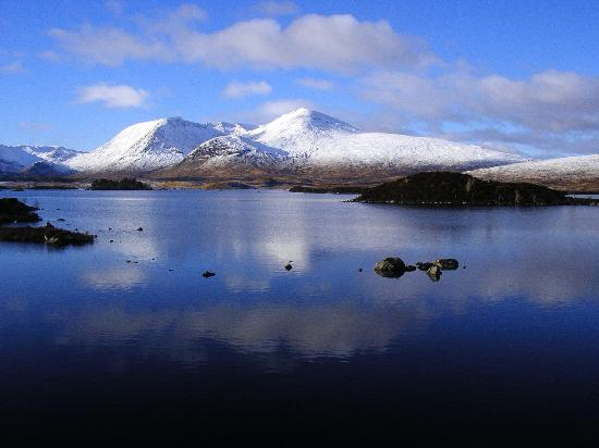 Rannoch Moor: Winter wonderland