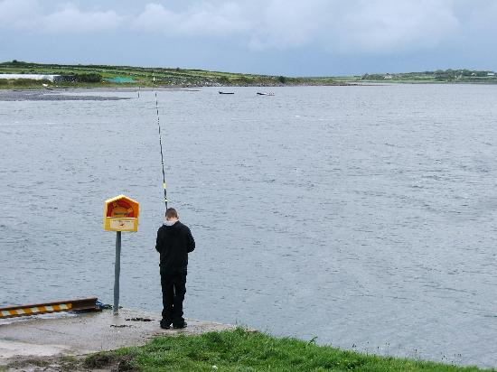 Linnane's Lobster Bar: view from restaurant window - tranquility.....