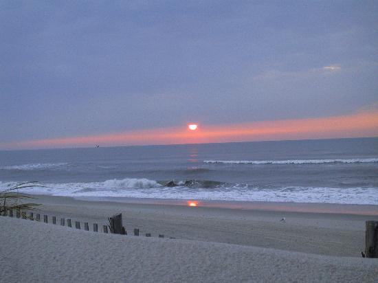 Costa de New Jersey, Nueva Jersey: Sunrise Long Beach Island