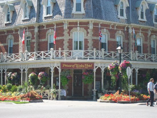 Prince of Wales: Front of Hotel