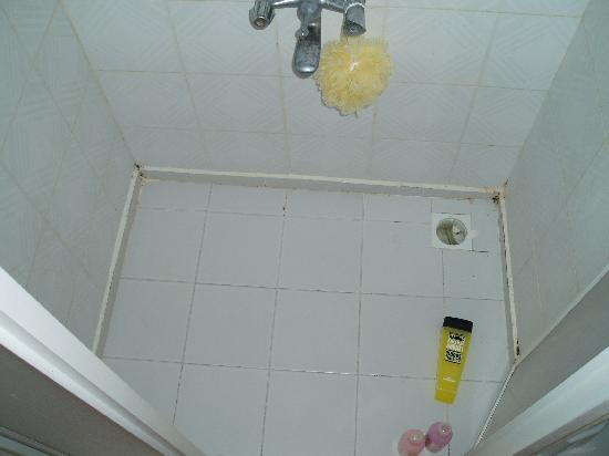 Rosy Apart Hotel : The not so clean shower cubicle