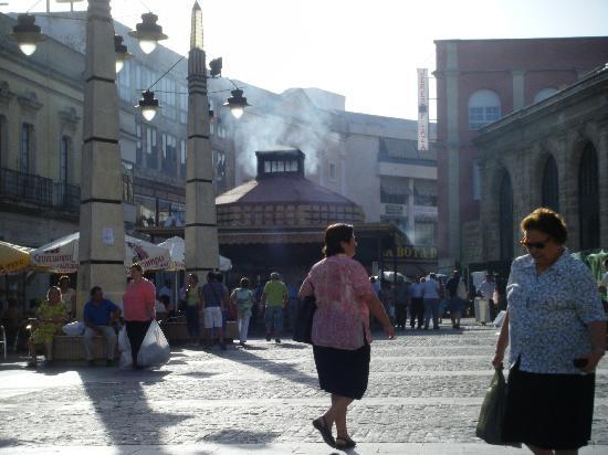 Mercado Central de Abastos: mercado plaza