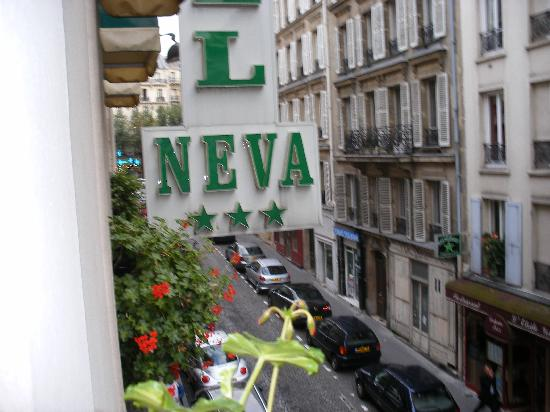 Hotel Neva - Paris: Street View of Hotel