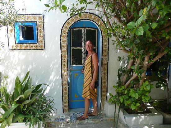 La porta della stanza picture of hotel bou fares sidi for La porta media