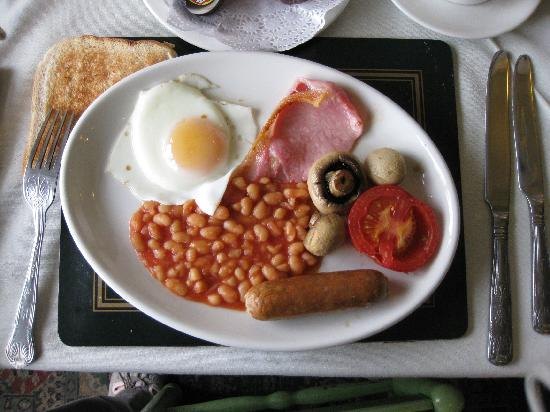 The Lugger Hotel: Full English Breakfast