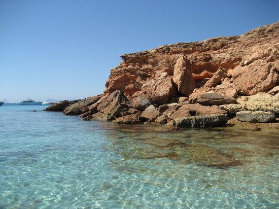 Formentera, Spanyol: Cala Saona