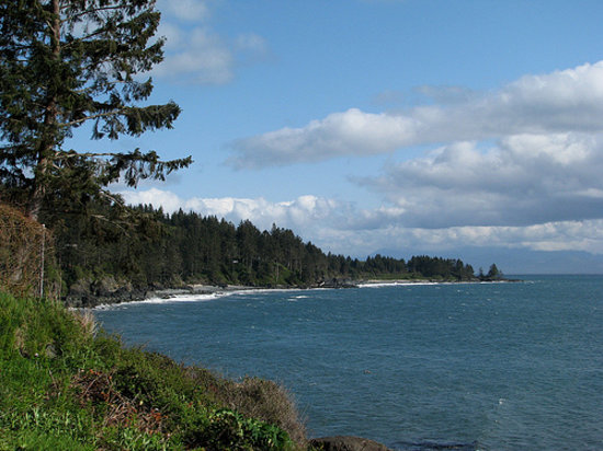 Sooke, Kanada: Weather improved